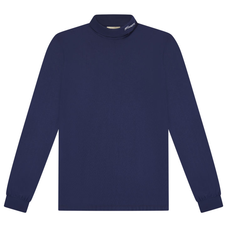 Roll Neck - Navy